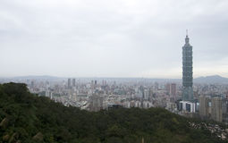 Город и 101 Тайбэя Стоковые Фото