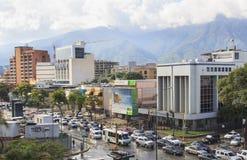 Город Каракаса, Венесуэла Стоковое Изображение RF