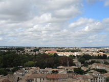 Город Каркассона Стоковое Изображение