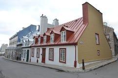 город Квебек Канады Стоковое Изображение RF