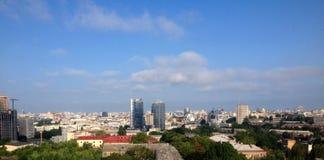 Город Киев лета деревни Украины Стоковые Фотографии RF