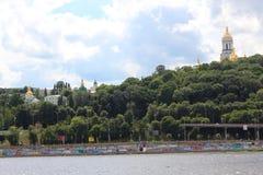 Город Киев - столица Украины стоковое фото