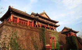 Город кино и телевидения Hengdian, Jinhua, Чжэцзян, Китай Стоковая Фотография