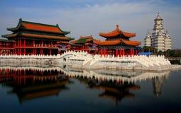 Город кино и телевидения Hengdian, Jinhua, Чжэцзян, Китай Стоковые Фотографии RF