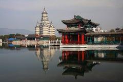Город кино и телевидения Hengdian, Jinhua, Чжэцзян, Китай Стоковое Фото
