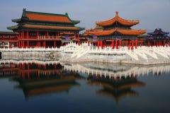 Город кино и телевидения Hengdian, Jinhua, Чжэцзян, Китай Стоковое Изображение RF