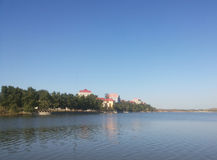 Город Китая Huludao, Запас-озеро природы HongLuoshan стоковое фото rf