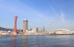 Город Кобе Стоковое Изображение