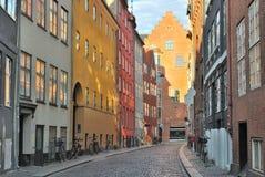 Город Копенгагена старый Стоковые Изображения
