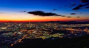 Город Кореи, Сеула Стоковое Изображение