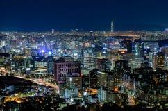 Город Кореи, Сеула Стоковая Фотография