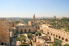 Город короля Дэвида, Иерусалима, Израиля Стоковое Изображение