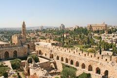 Город короля Дэвида, Иерусалима, Израиля Стоковые Изображения RF