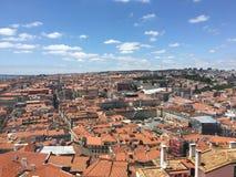 Город Лиссабон Стоковые Изображения