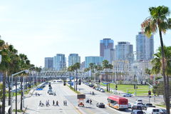Город Лонг-Бич Стоковое Изображение RF