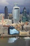 Город Лондона - небоскребов Стоковые Изображения