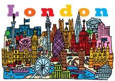 Город 2 Лондона Бесплатная Иллюстрация