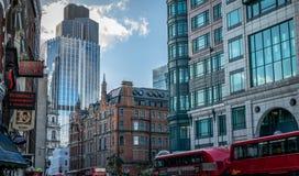 Город Лондона Стоковая Фотография