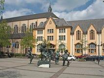 Город Люксембурга стоковая фотография rf