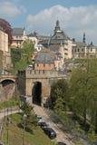 Город Люксембурга стоковые изображения