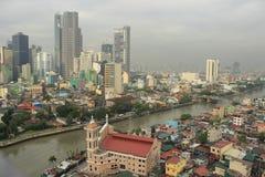Город Манила Филиппин Стоковые Изображения RF