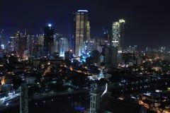 Город Манила Филиппин Стоковое Изображение