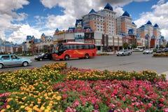 Город Маньчжурия Стоковое фото RF