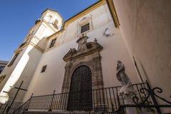 Город Малаги, Испания Стоковое Фото