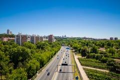 Город Мадрида Стоковое Изображение RF