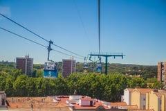 Город Мадрида Стоковые Изображения RF