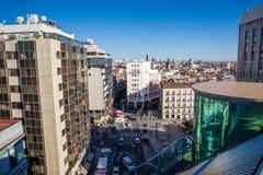 Город Мадрида Стоковая Фотография