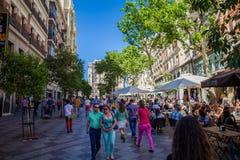 Город Мадрида Стоковые Фото