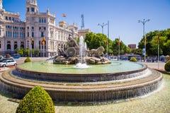 Город Мадрида Стоковая Фотография RF