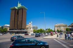 Город Мадрида Стоковые Фотографии RF