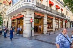 Город Мадрида Стоковое фото RF