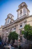 Город Мадрида Стоковые Изображения