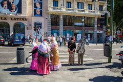 Город Мадрида Стоковое Фото