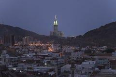 Город мекки стоковое изображение