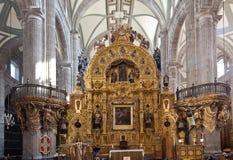 город Мексика собора Стоковое Изображение RF