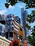 Город Мельбурна в Виктории в Австралии стоковое фото