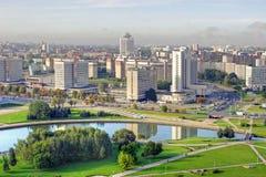 Город Минск Стоковое Изображение