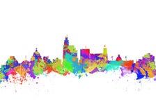 Город Миссиссипи Джексона Стоковые Фотографии RF