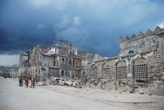 Город Могадишо Стоковые Изображения RF