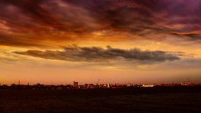 город мой стоковое изображение