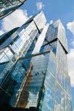 Город Москвы делового центра Москвы международный Стоковое Изображение RF