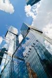 Город Москвы делового центра Москвы международный Стоковая Фотография RF