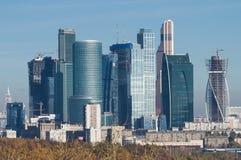Город Москвы Стоковое фото RF