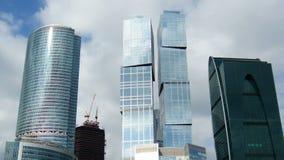 Город Москвы сток-видео