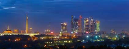 Город Москвы Стоковые Фотографии RF