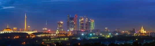Город Москвы Стоковая Фотография RF